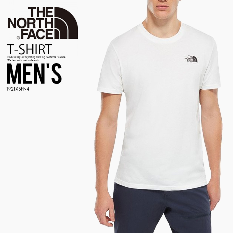 The North Face Simple Dome T Shirt TNF White