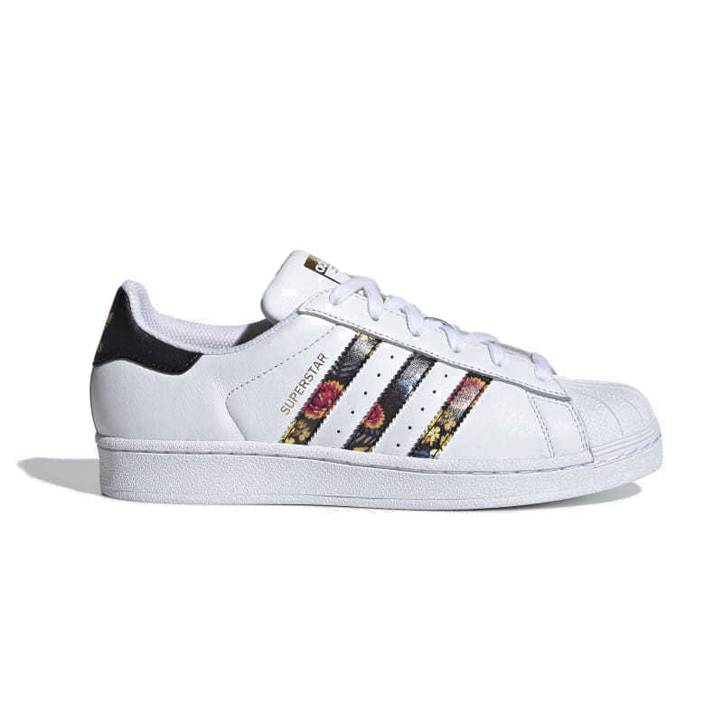 adidas (Adidas) SUPERSTAR W (superstar) floral design Lady's men sneakers shoes FTWWHTFTWWHTGOLDMT (white) EF1480