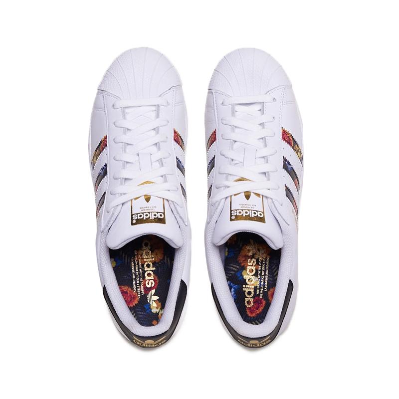 adidas (Adidas) SUPERSTAR W (superstar) floral design Lady's men sneakers shoes FTWWHTFTWWHTGOLDMT (white) EF1480