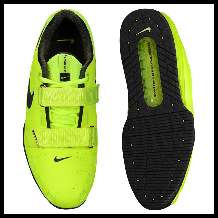 NIKE (Nike) ROMALEOS 2 (Roma Leos) MENS weightlifting powerlifting shoes VOLT/SEQUOIA (yellow / black) 476927 730 ENDLESS TRIP (endless trip)