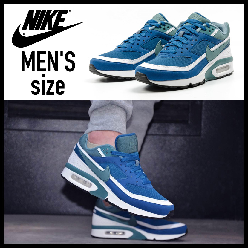 46a4b3eeeb ... low price nike nike air max bw og air max big window mens sneakers marina  grey
