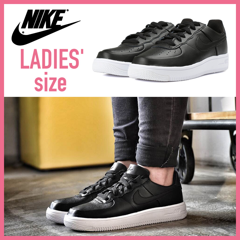nike air force 1 se sneaker black and white