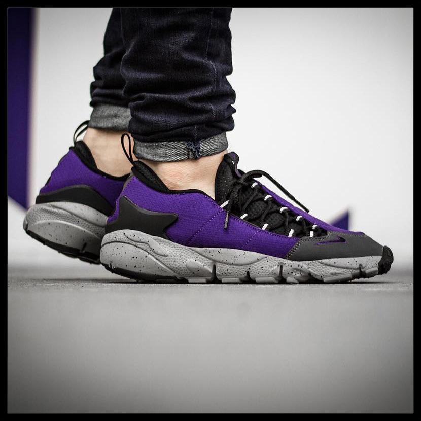 hot sale online 116f8 8288e ... NIKE (Nike AIR FOOTSCAPE NM (air feet cape) MENS sneakers shoes COURT  PURPLE .