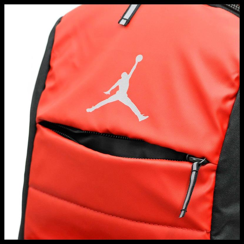 25d296c8ec NIKE (Nike) JORDAN ALL WORLD BACKPACK (Jordan oar world backpack) men s    Lady s unisex day pack rucksack GYM RED BLACK (red   black) 9A1640 681  ENDLESS ...