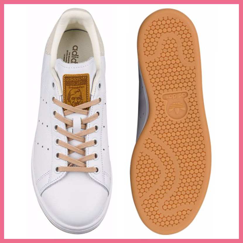 adidas (Adidas) STAN SMITH W (Stan Smith) lady's men's sneakers FTWWHT/FTWWHT/GUM10 (white) BA7500 ENDLESS TRIP (endless trip)