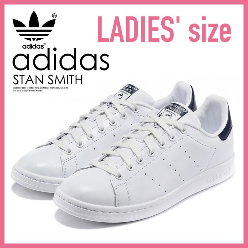 【大人気!入手困難!】【レディース サイズ】adidas アディダス STAN SMITH スタンスミス ユニセックス ウィメンズ スニーカー RUNNING WHITE/NEW NAVY (ホワイト/ネイビー) (M20325) ENDLESS TRIP ENDLESSTRIP エンドレストリップ