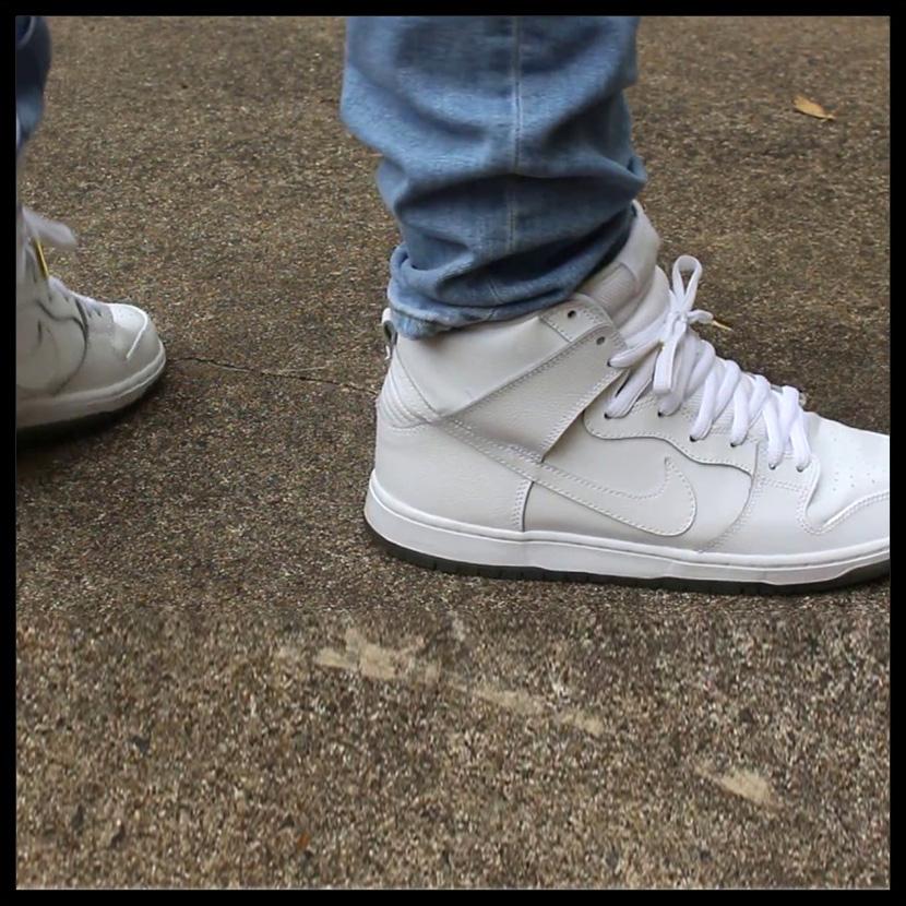 cheaper b990c 9b74d ... spain nike nike dunk high pro sb dunk high professional sb mens men  sneakers white white