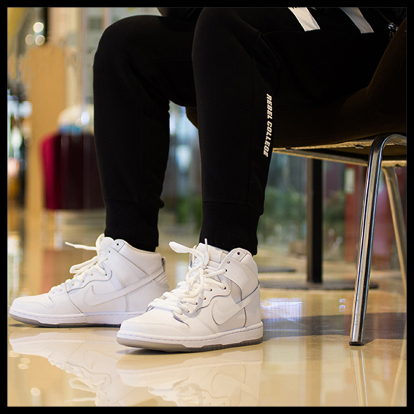 best cheap 86365 02ac9 coupon for nike dunk high sb white 11aa4 37732