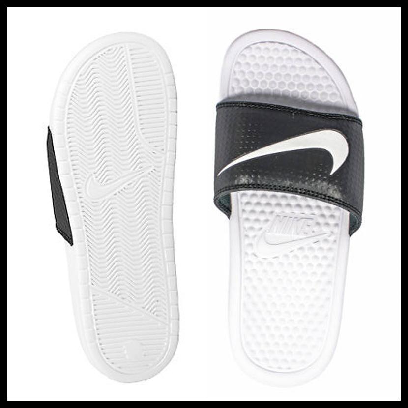 666b86ea5f83 NIKE (Nike) BENASSI SWOOSH (ベナッシスウォッシュ) MENS WOMENS men women shower sandals  Hel sea sandals BLACK WHITE-WHITE (black   white) 312618 019 ENDLESS ...