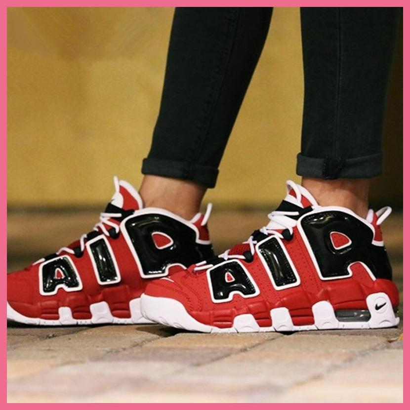 Nike Uptempo Varsity Red