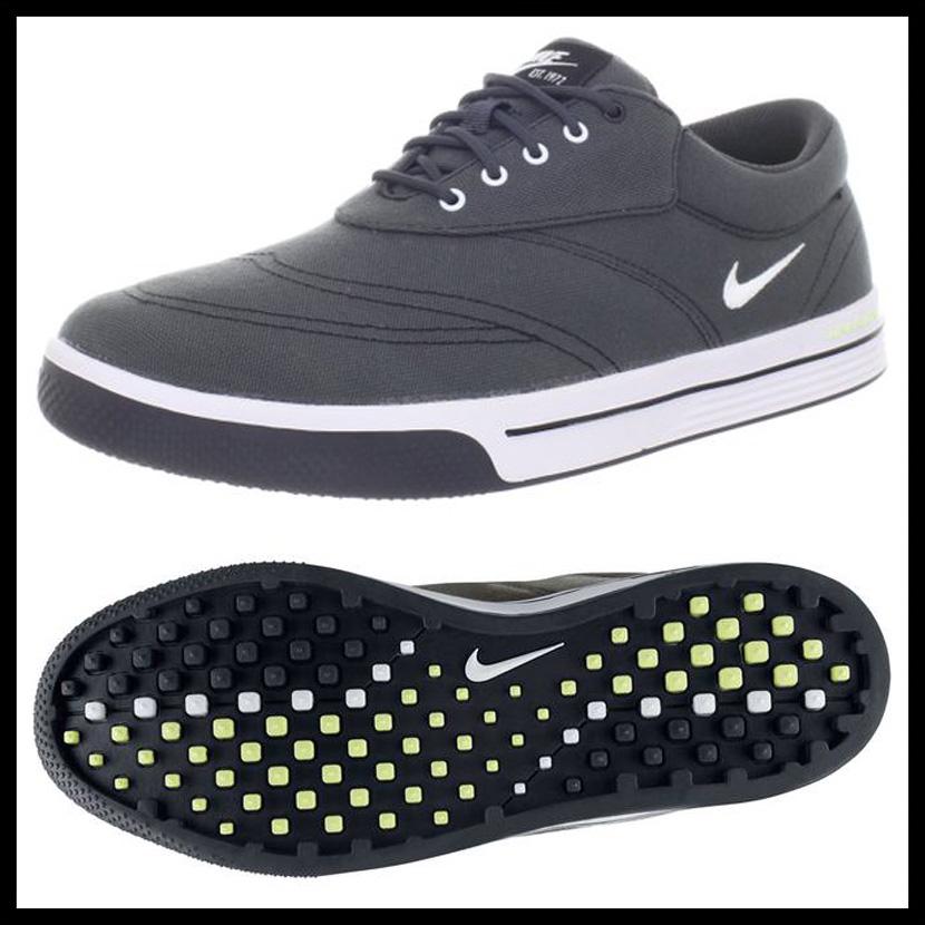 premium selection 21429 4bdba NIKE (Nike) LUNAR SWINGTIP CANVAS (luna swing tip canvas) MENS sneakers  ANTHRACITEWHITE ... Adult NIKE 2014 Lunar Swingtip Canvas Spikeless Golf ...