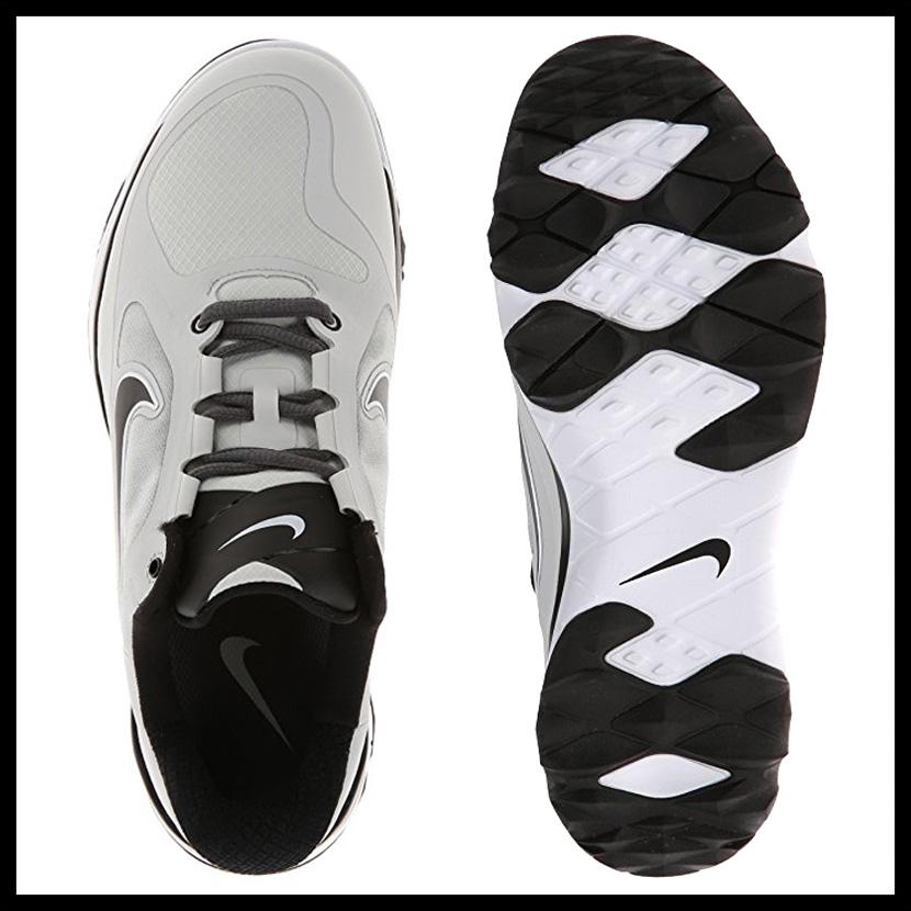NIKE (Nike) FI IMPACT (WIDE) (FI impact) MENS GOLF SHOES WIDE wide wide  model LT BASE GREY/BLACK-LT BS GREY (gray / black /) 611511 003 ENDLESS TRIP