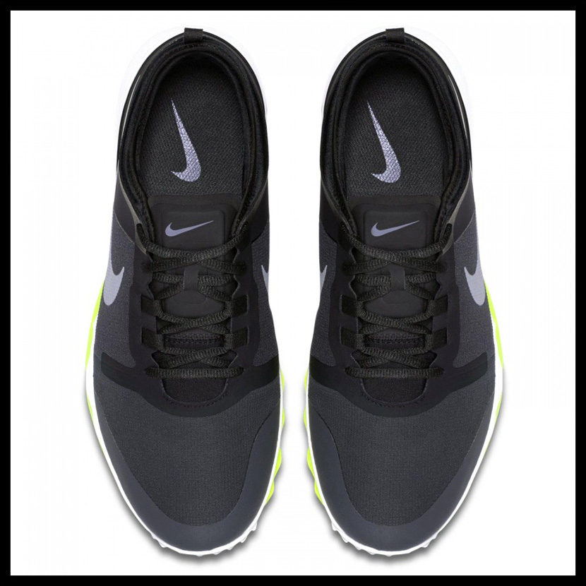 NIKE (Nike) FI IMPACT 2 (WIDE) (FI impact 2) MENS GOLF SHOES WIDE wide wide  model spikesless BLACK/COOL GREY-WHITE-ANTHRCT (black / gray / white)  776114 002 ...