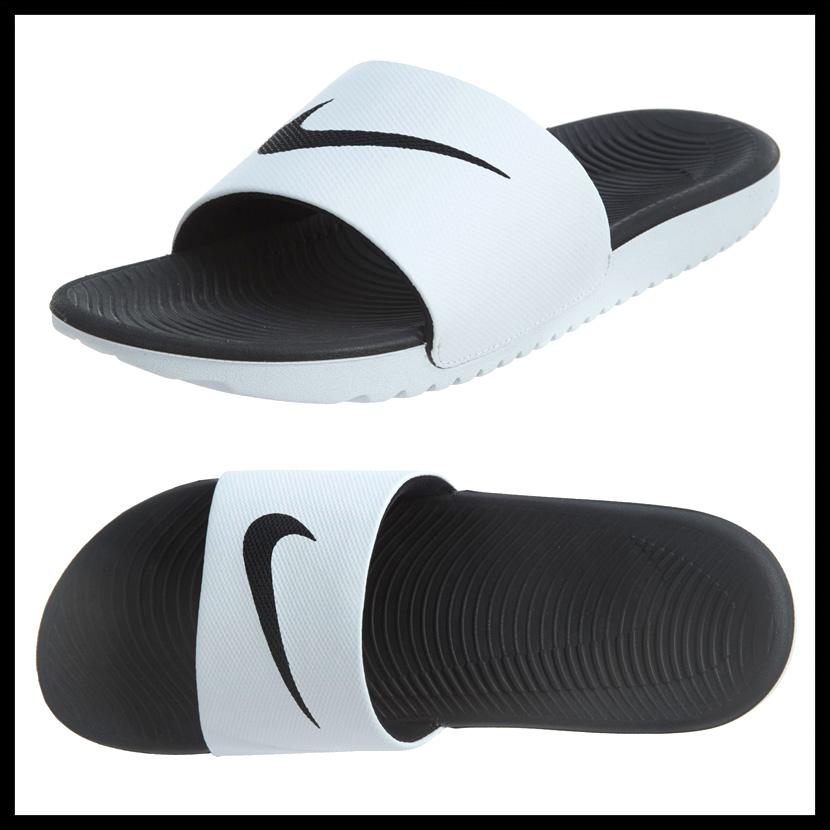fd45fdbc0 NIKE (Nike) KAWA SLIDE (kava slide) MENS シャワーサンダルヘルシーベナッシサンダル WHITE BLACK  (white   black) 832646 100 ENDLESS TRIP pickup