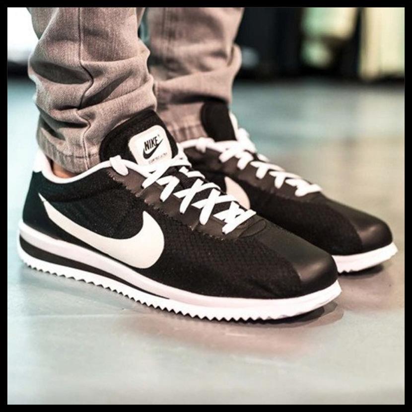 Nike Cortez Ultra Black White Volt 833142 002 Men