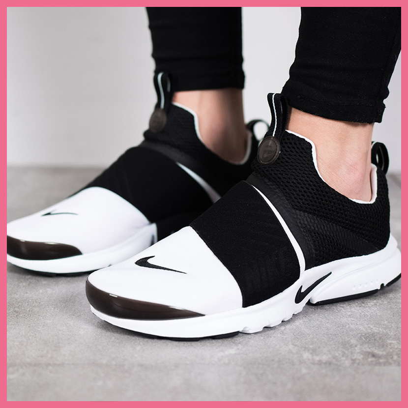 cheap for discount 79f94 82f4f NIKE (Nike) PRESTO EXTREME (GS) (extreme a presto) women WOMENS sneakers  WHITE/BLACK (white / black) 870020 100 ENDLESS TRIP ENDLESSTRIP end rest lip