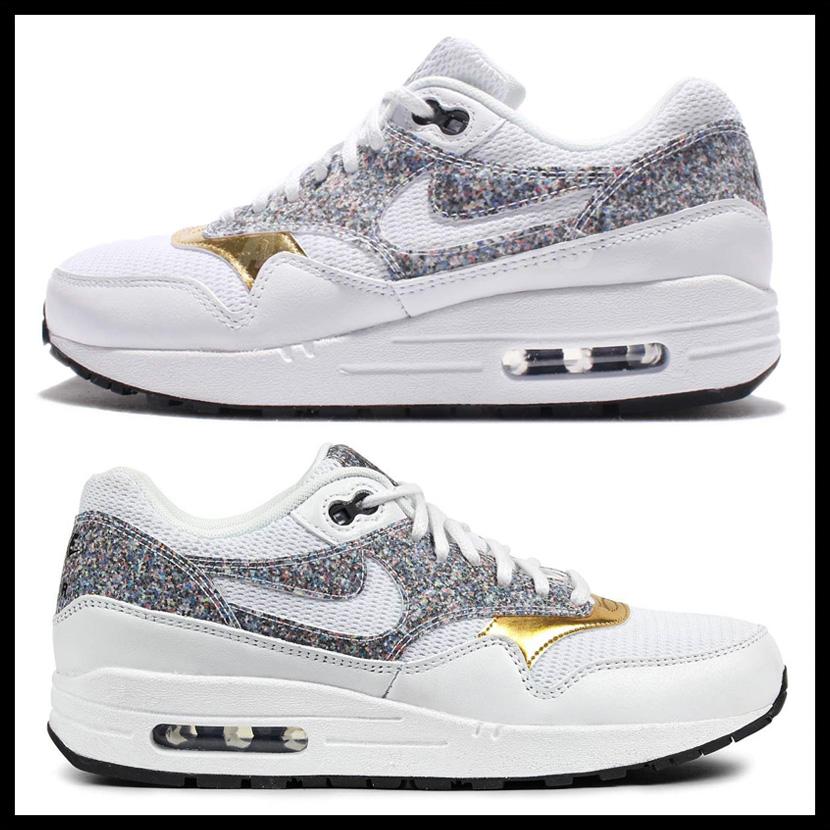 best sneakers 2643c 09d26 NIKE (Nike) WOMENS AIR MAX 1 SE (Air Max) women sneakers WHITE WHITE-BLACK ( white   black) 881101 100 ENDLESS TRIP ENDLESSTRIP end rest lip