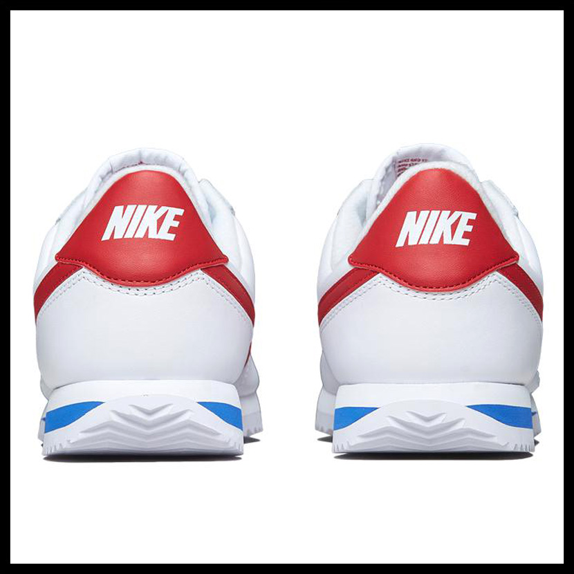 b9d04d46 ... closeout nike nike cortez basic leather og mens sneakers white varsity red  white red blue tricolor