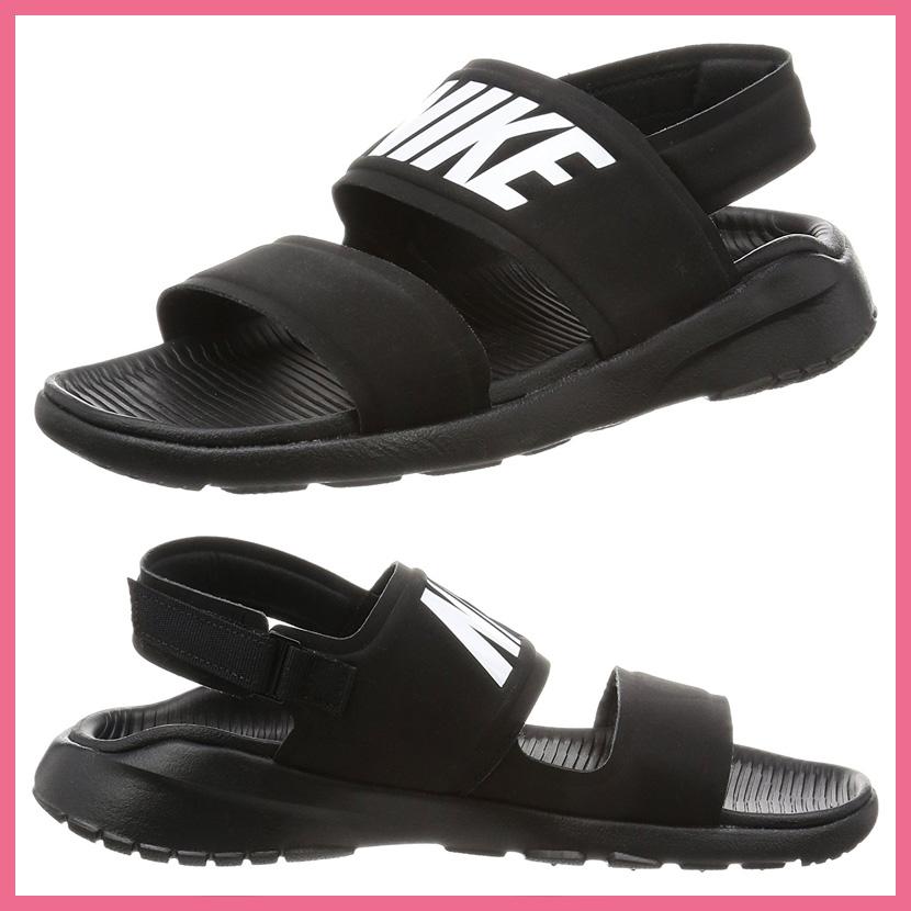 NIKE (Nike) WOMENS TANJUN SANDAL (tongue Jun sandals) Lady's women shower  Hel sea sandals strap BLACK/WHITE-BLACK (black / white) 882694 001 (endless  trip)