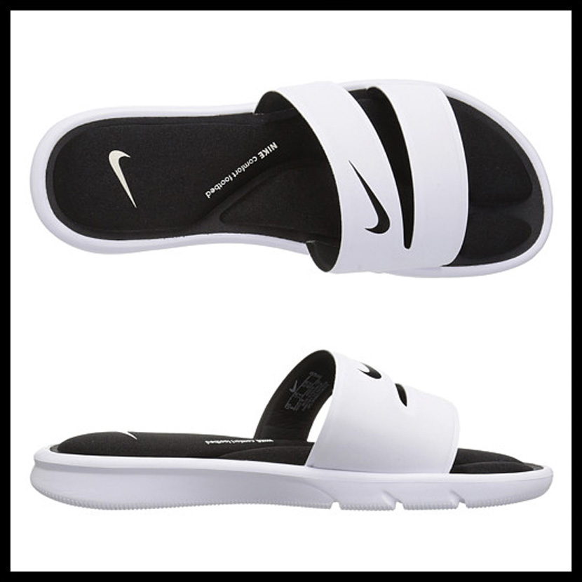 ee60bd142b49 NIKE (Nike) WOMENS NIKE ULTRA COMFORT SLIDE (ultra comfort slide) women men  MENS シャワーヘルシーベナッシサンダル WHITE BLACK-WHITE (white   black) 882695 ...