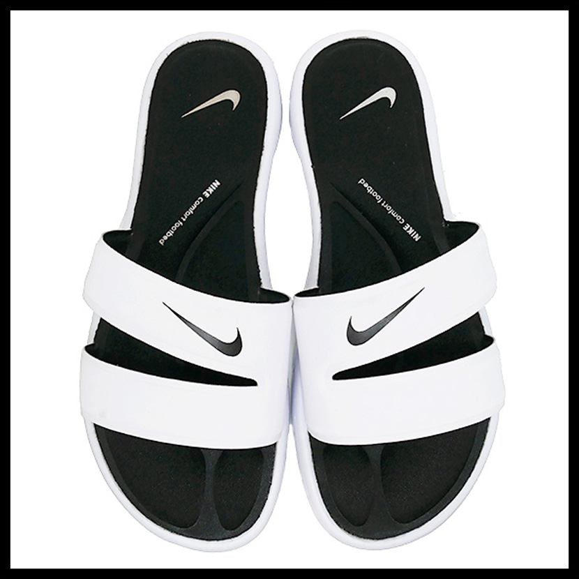 049004d19f45 NIKE (Nike) WOMENS NIKE ULTRA COMFORT SLIDE (ultra comfort slide) women men  MENS シャワーヘルシーベナッシサンダル WHITE BLACK-WHITE (white   black) 882695 ...