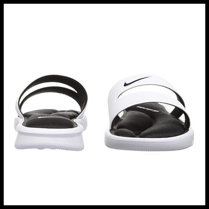 4ec51085df9956 NIKE (Nike) WOMENS NIKE ULTRA COMFORT SLIDE (ultra comfort slide) women men  MENS シャワーヘルシーベナッシサンダル WHITE BLACK-WHITE (white   black) 882695 ...