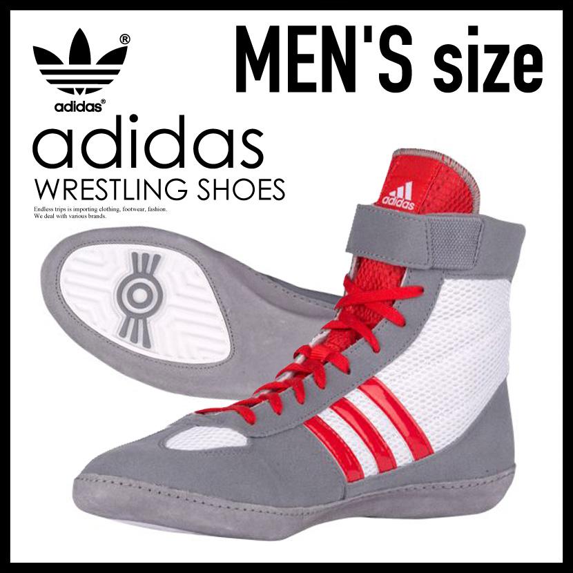 【希少!大人気!メンズ レスリングシューズ】 adidas(アディダス)COMBAT SPEED.4 WRESTLING SHOES MENS ボクシング トレーニング FTWWHT/VIVRED/GREY (ホワイト/レッド/グレー) AQ3323 ENDLESS TRIP ENDLESSTRIP エンドレストリップ