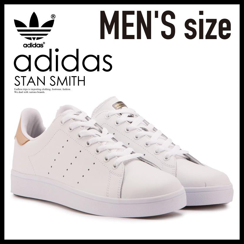【希少!大人気!メンズ モデル】 adidas(アディダス スケートボーディング)STAN SMITH VULC(スタン スミス バルカ) MENS スニーカー シューズ FTWWHT/STPANU/GOLDMT (ホワイト/STペールヌード/ゴールド) BB8746 ENDLESS TRIP pickup