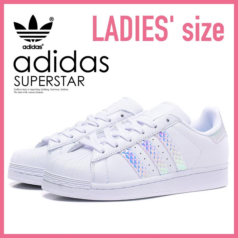 adidas (Adidas) SUPERSTAR J (superstar) WOMENS women sneakers shoes FTWWHT/FTWWHT/FTWWHT (white) CG3596 ENDLESS TRIP (endless trip)