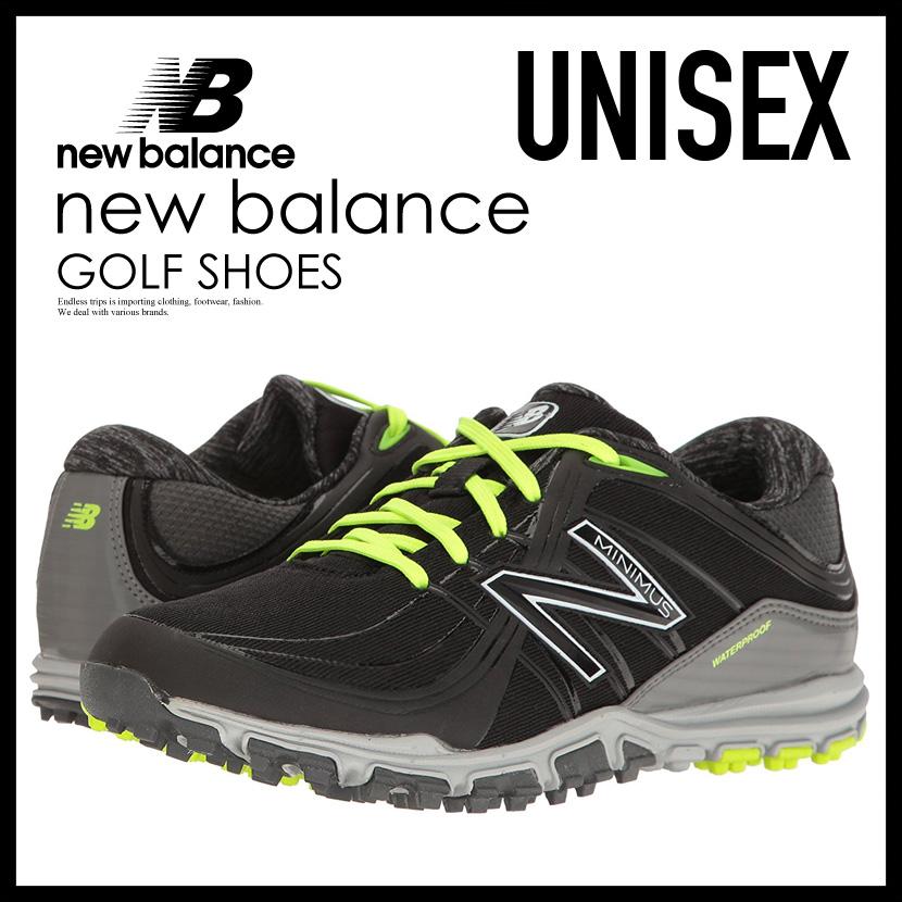 沒有NEW BALANCE(新平衡)NBGW1005 MINIMUS GOLF SHOES(小鱒魚高爾夫球鞋)WOMENS女士MENS人釘鞋的BLACK/LIME(黑色/酸橙)NBGW1005 BLACK/LIME ENDLESS TRIP(永無休止的旅行)