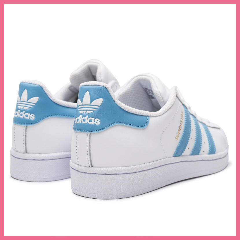 sale retailer ccb0f faa20 adidas Men s Superstar (White Blue Red) KicksUSA