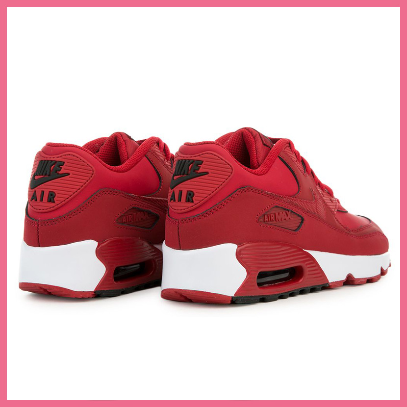 air max 90 leather red