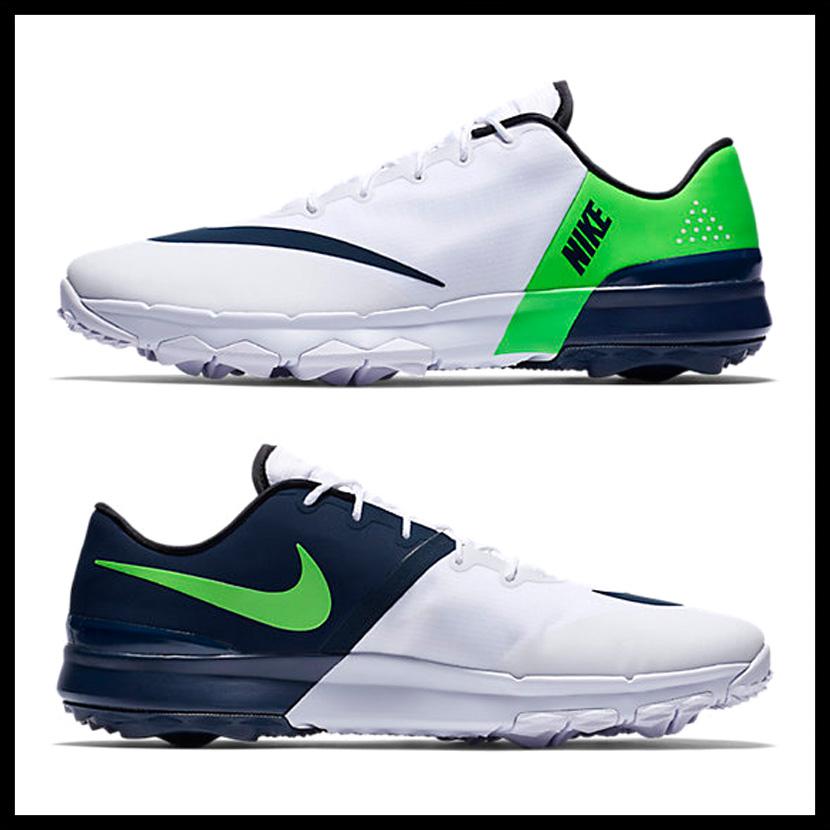 03c5ba621d92 NIKE (Nike) FI FLEX (FI flextime) MENS golf shoes spikesless WHITE ARMORY  NAVY-GREEN STRIKE (white   navy   green) 849960 103 ENDLESS TRIP pickup