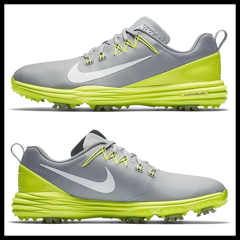 NIKE Nike LUNAR COMMAND 2 luna command MENS golf shoes WOLF GREY WHITE VOLT gray white yellow 849968 003 ENDLESS TRIP endless trip