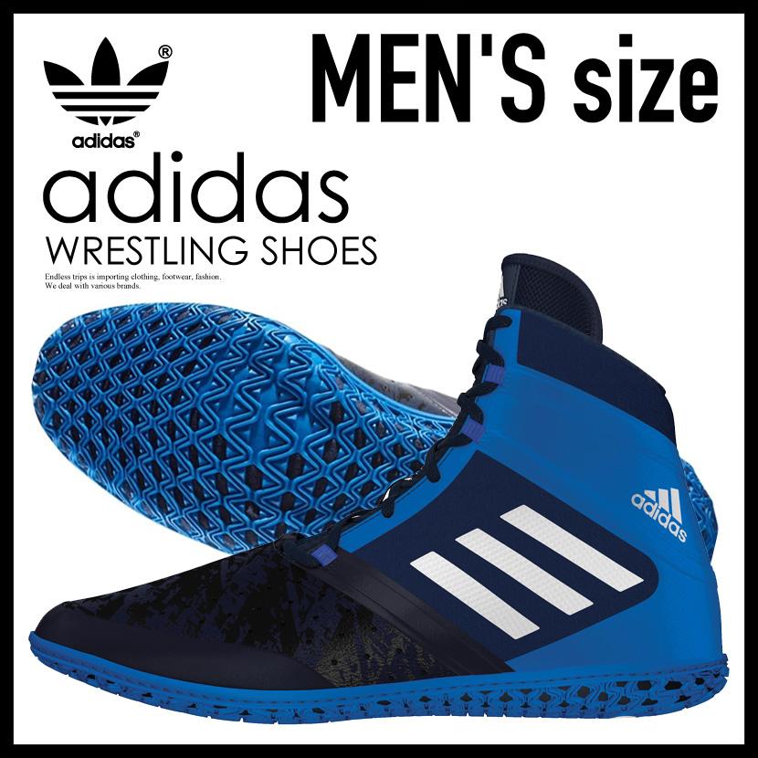 【希少!大人気!メンズ レスリングシューズ】 adidas(アディダス)FLYING IMPACT (フライング インパクト) WRESTLING SHOES ボクシング トレーニング CONAVY/SILVMT/SHOBLU (ネイビー/ブルー) AQ3318 ENDLESS TRIP ENDLESSTRIP エンドレストリップ