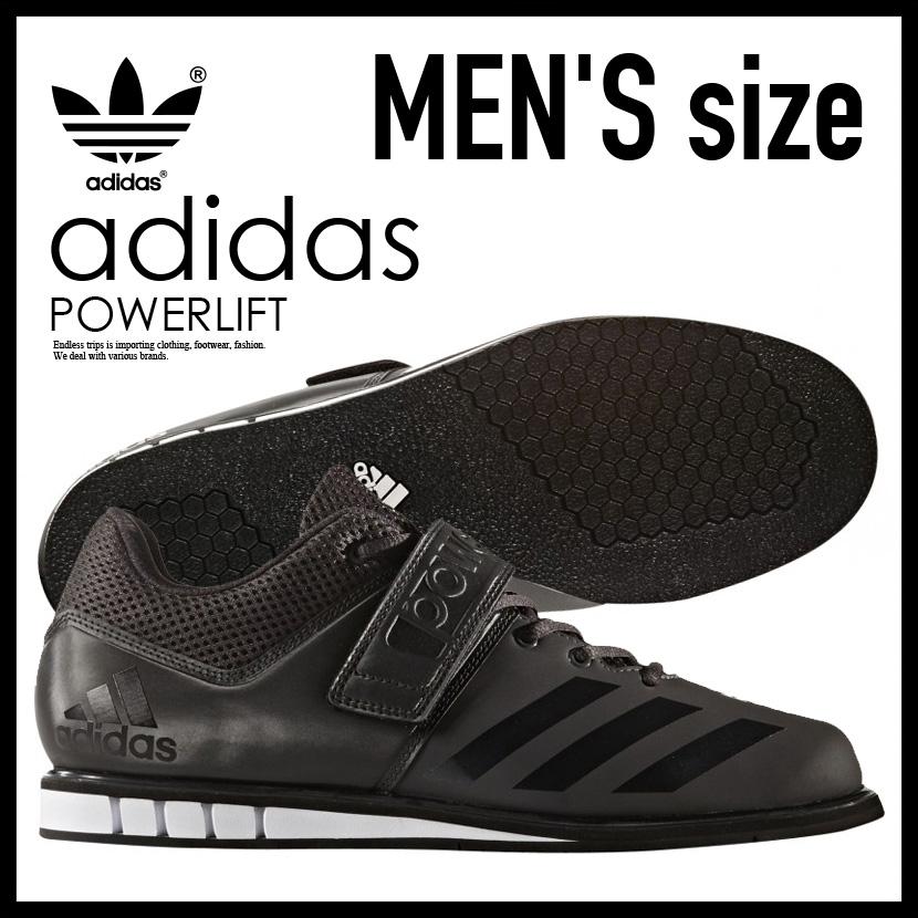 【希少!大人気!メンズ モデル】 adidas(アディダス)POWERLIFT.3.1 (パワーリフト) MENS パワーリフティング ウェイトリフティング 重量挙げ シューズ UTILITY BLACK/CORE BLACK/WHITE (ブラック/ホワイト) BA8019【外箱ダメージあり】 ENDLESS TRIP エンドレストリップ