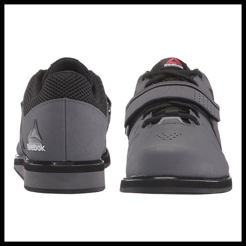 8cdb5c59615 Reebok (Reebok) LIFTER PR (lifter) MENS cross fitness training powerlifting  weight lifting shoes ASH GREY BLACK WHITE (gray   black   white) BD2631  ENDLESS ...
