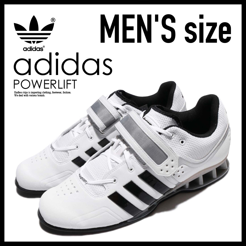 b9a97ebd7d37 Adidas adiPower Weightlifting Shoes Mens White