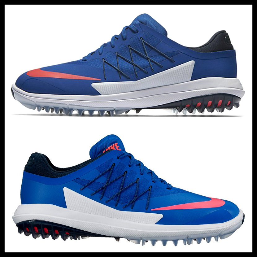 09d9857382d8 NIKE (Nike) LUNAR CONTROL VAPOR (luna control vapor) MENS GOLF SHOES  spikesless BLUE JAY SOLAR RED-ARMORY NAVY (blue   red   navy) 849971 401  ENDLESS TRIP ...