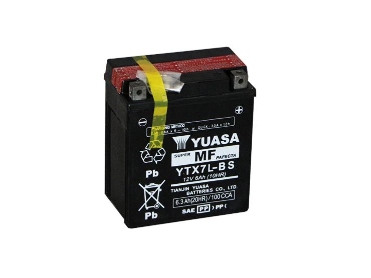汎用 バッテリー YTX7L-BS