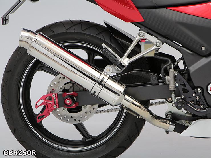 CBR250R CB250F hi-POWER SPORTS 슬립 온 머플러 TYPE R 스테인레스