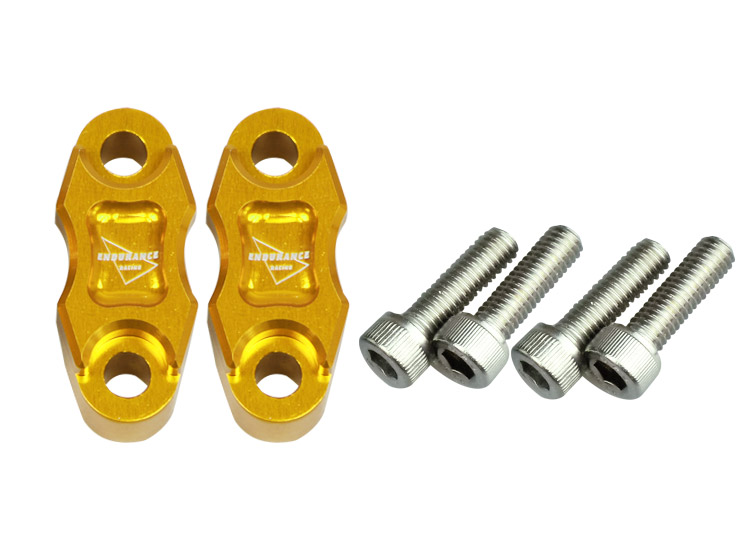 Universal master cylinder holder KIT B (gold)