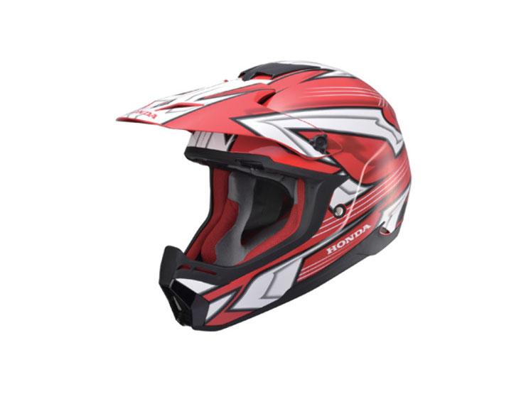 Honda XP913 CHARGER ヘルメット(レッド/ホワイト)【お取り寄せ品】