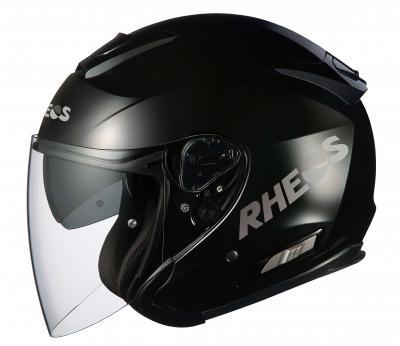RHEOS Asagi ヘルメット(ブラックメタリック)【お取り寄せ品】