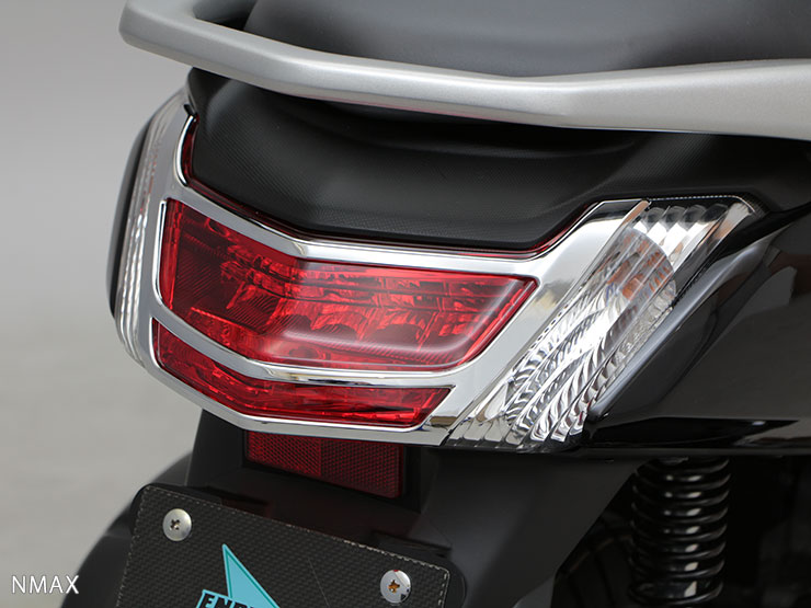 NMAX Tail Light Cover (plating)