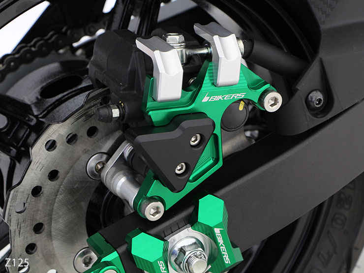 ★Article ★ Z125 PRO rear brakes caliper guard (all four colors) IBR_ 12ZZ_  which is targeted for BIKERS discount