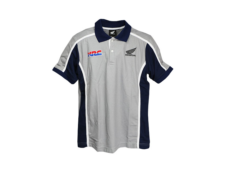 Endurance Rakuten Ichiba Shop Honda Hrc Polo Shirt Lady Gray L