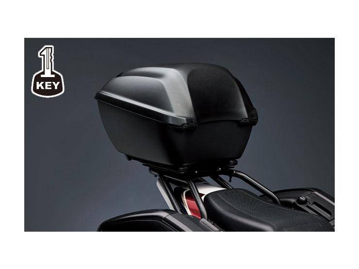 Honda純正 CB1300SF/SB トップボックス 35L【お取り寄せ品】