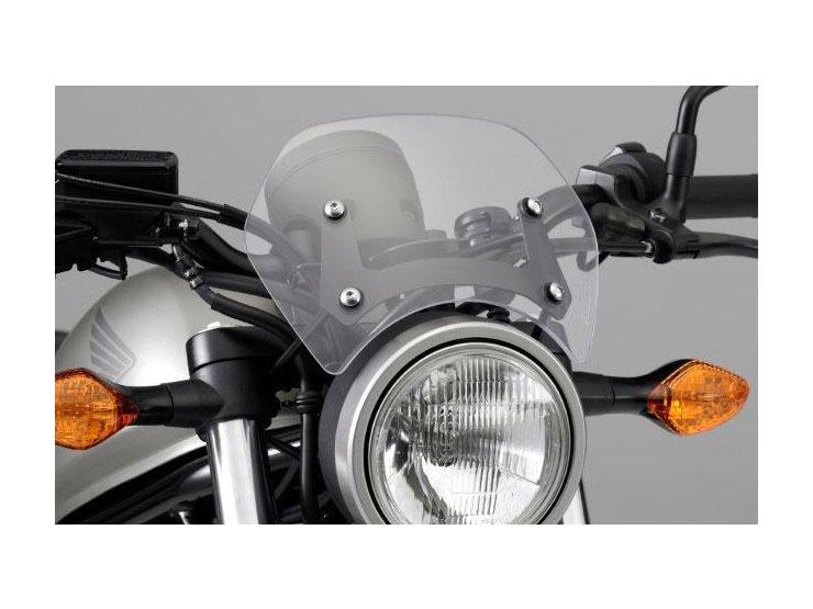 Honda純正 レブル250('17.4~) レブル500('17.4~) メーターバイザー【お取り寄せ品】