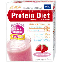 <廃盤>DHC蛋白质减肥草莓牛奶味道(7袋入)